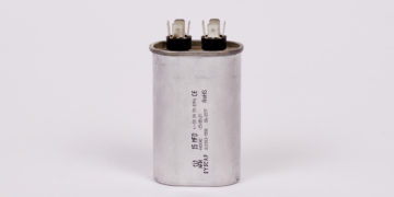MOTOR RUN ALUMINIUM DUAL VALUE SAFETY CAPACITORS